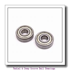 PEER 6004-ZZD-C3 Radial & Deep Groove Ball Bearings