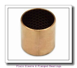 Bunting Bearings, LLC AA100503 Plain Sleeve & Flanged Bearings