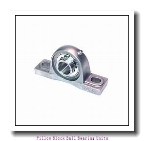 0.938 Inch | 23.825 Millimeter x 1.375 Inch | 34.925 Millimeter x 1.313 Inch | 33.35 Millimeter  Sealmaster NPL-15TC Pillow Block Ball Bearing Units