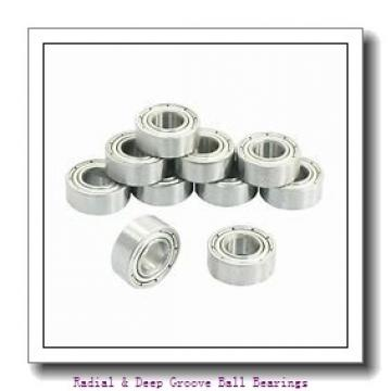 0.5000 in x 1.5625 in x 0.5938 in  Nice Ball Bearings (RBC Bearings) 5281VBF53 Radial & Deep Groove Ball Bearings