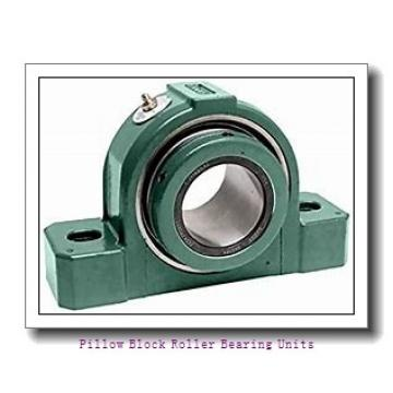 60 mm x 212.7 to 219 mm x 4 in  Dodge P2BE60MR Pillow Block Roller Bearing Units
