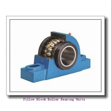 6.0000 in x 19.63 to 21.38 in x 8.66 in  Dodge P4B534SFXT600TT Pillow Block Roller Bearing Units