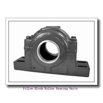 6.0000 in x 19 to 21.63 in x 9 in  Dodge P4BTFXT600RE Pillow Block Roller Bearing Units