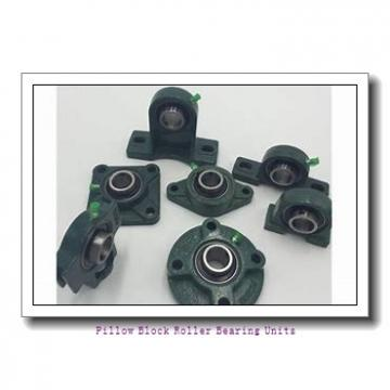 2.7500 in x 9.88 to 11-1/2 in x 4-1/2 in  Dodge P2BDI212RE Pillow Block Roller Bearing Units