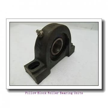 2.4375 in x 10 to 11-1/2 in x 6 in  Dodge P4BC207 Pillow Block Roller Bearing Units