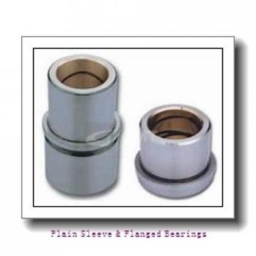 Bunting Bearings, LLC CB091116 Plain Sleeve & Flanged Bearings