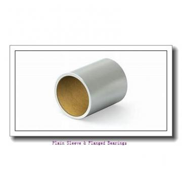 Bunting Bearings, LLC AAM008014012 Plain Sleeve & Flanged Bearings
