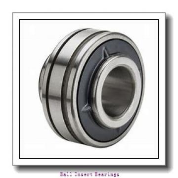 25 mm x 52 mm x 21.5 mm  SNR SES205 Ball Insert Bearings