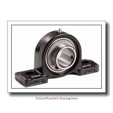 1.438 Inch | 36.525 Millimeter x 1.688 Inch | 42.87 Millimeter x 2.375 Inch | 60.325 Millimeter  Sealmaster SP-23 CSK Pillow Block Ball Bearing Units